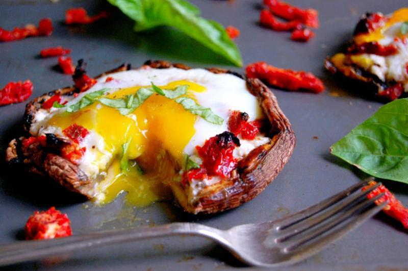 Baked Eggs Portobello Recipe