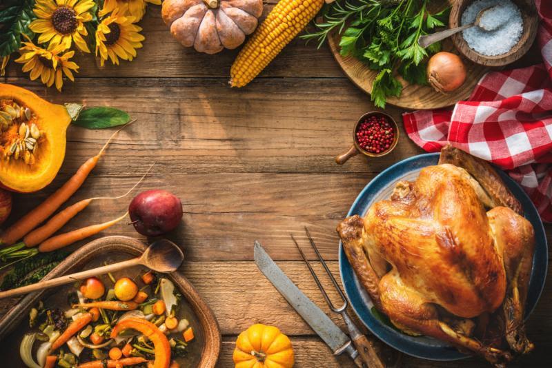 Serotonin-Plus Modified One Dietary Plan Menu for Thanksgiving