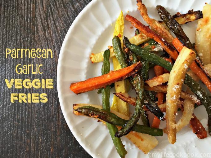 Parmesan Garlic Veggie Fries