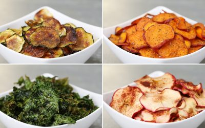 "Healthy substitute for salty snacks Kale ""Chips"""