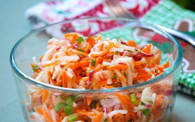 Pickled Daikon Radish and Carrot Salad