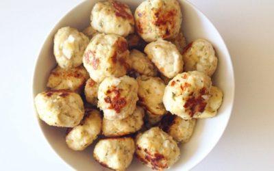 Savory Turkey Meatballs to stop sugar cravings