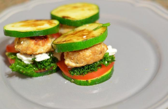 Zucchini sliders recipe