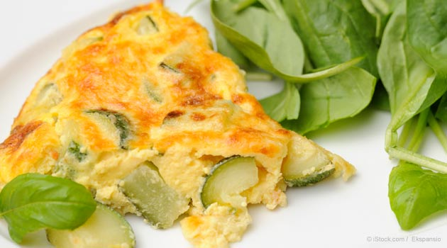 Spring Vegetables Omelet