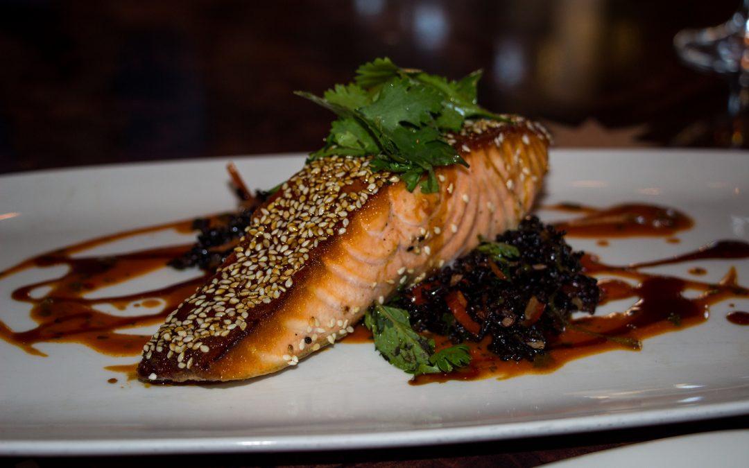 Sesame Crusted Salmon – A Parkinson's Recipe